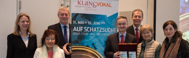 """Klangvokal-Festival auf """"Schatzsuche"""": Breites Musikspektrum vom 11. Mai bis 10. Juni 2018 in Dortmund zu erleben"""