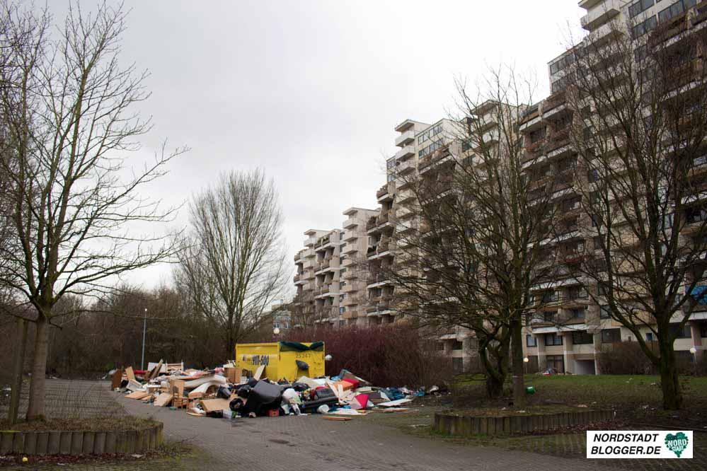 Gebäudekomplex Hannibal II in Dorstfeld: Steht eine Sanierung bevor? Foto: Marcus Arndt