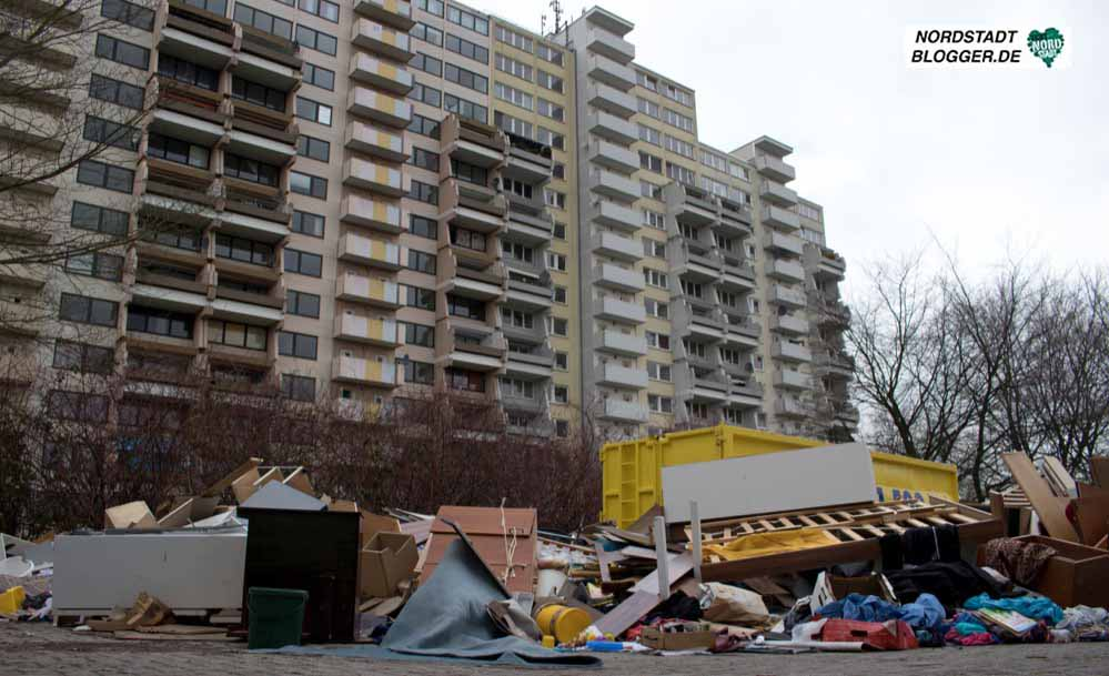 Hannibal-II in Dortmund Dorstfeld: Die Zukunft des Gebäudekomplexes bleibt offen. Fotos: Marcus Arendt.