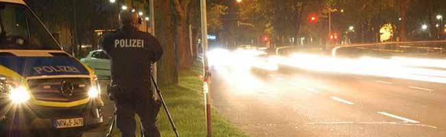 Fast drei Jahre Haft für einen Raser in Dortmund: Die Polizei sieht Urteil als Motivation für weitere Kontrolleinsätze