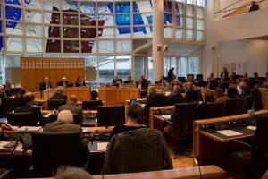 Der Rat thematisierte erneut die Hannibal-Räumung. Foto: Carmen Körner