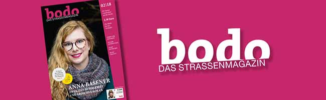 """bodo ‑ das Straßenmagazin"" im Februar 2018"