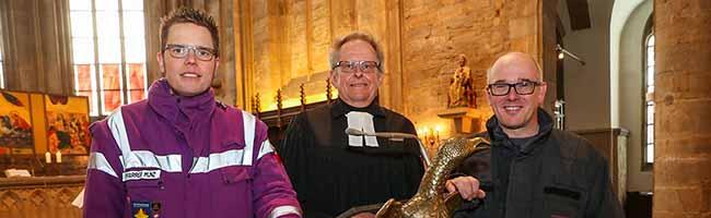"""Hilfe in der Not: Gottesdienst in St. Marien zum Thema """"Notruf"""" mit Feuerwehrchef und Notfallseelsorger"""