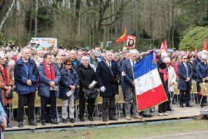 Die französische Delegation während der Veranstaltung.