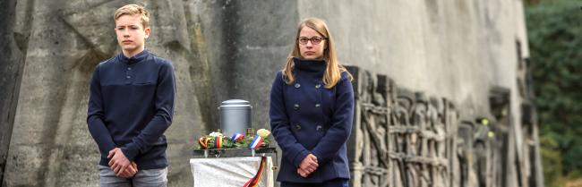 Zum Gedenken und zur Mahnung: Würdigung der Nazi-Opfer in der Bittermark setzt starke Zeichen gegen Neo-Nazis heute