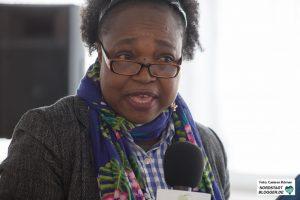 Bridget Fonkeu, Initiatorin der Silent University und Wissenschaftlerin an der Technischen Universität Dortmund