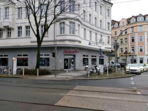 Den eigenen Bestand schützen: das Concordia-Haus von Spar- und Bau am Borsigplatz.