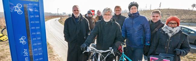 Stadt Dortmund errichtet erste Dauerzählstelle für Radverkehr  – Radschnellweg Ruhr bekommt Priorität bei Planung