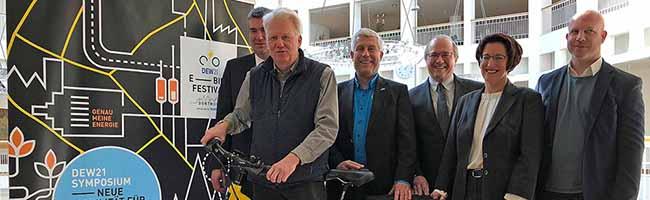 Zum E-Bike-Festival in der City von Dortmund werden über 150 AusstellerInnen und 50 000 BesucherInnen erwartet