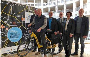 Die Organisatoren erwarten zum dritten E-Bike Festival vom 6. bis 8. Aprilmehr als 50 000 BesucherInnen in der Dortmunder City. Foto: Joachim vom Brocke