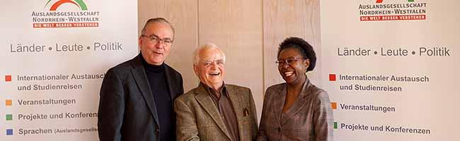 Ehrenamt: Bei derDeutsch-Afrikanischen Gesellschaft gibt es nach 36 Jahren einen Generationswechsel an der Spitze