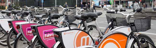 """Die """"Freefloater"""" kommen: Stationslose Mietradverleiher wollen den Fahrrad-Markt in Dortmund ergänzen"""