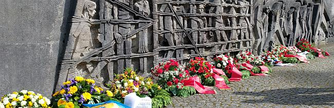 Gedenken an Opfer des Nationalsozialismus am Mahnmal Bittermark und 15. Czerkus-Gedächtnislauf in Dortmund