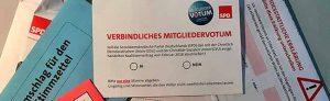 Das Mitgliedervotum der SPD ist entschieden: Zwei Drittel votierten für die