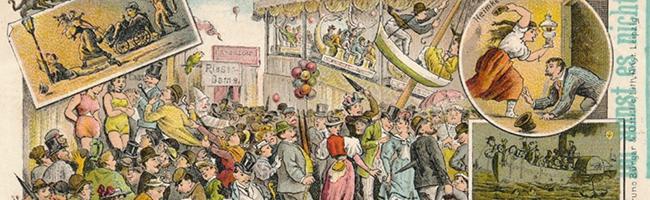 SERIE Nordstadt-Geschichte(n): Die Osterkirmes lockte bereits 1898 mit vielen Attraktionen in den Norden von Dortmund