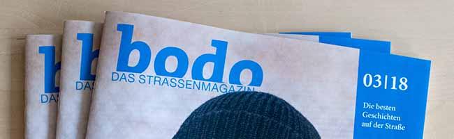 """Jetzt erschienen: """"bodo"""" ‑ das Straßenmagazin im März 2018"""