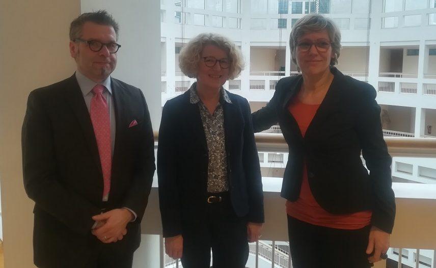 v.l. Gernot Willeke, Martina Raddatz-Nowack, Daniela Schneckenburger GW