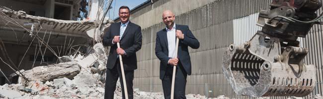 Wandel des Dortmunder Hafens: Abrissarbeiten im nördlichen Teil der Speicherstraße leiten die nächste Bauphase ein