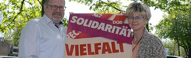 DGB Veranstaltungen zum 1. Mai 2018 in Dortmund: Vielfalt, Solidarität und Gerechtigkeit auch für Langzeitarbeitslose