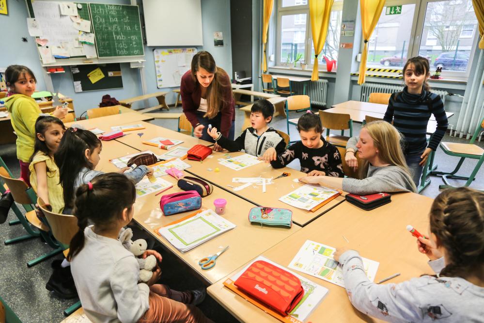 FerienIntensivTraining an der Kautsky-Grundschule in Dortmund-Scharnhorst
