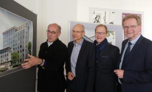 V.l.: Norbert Hermanns, Thomas Ellerkamp, Thomas Pink, Ludger Wilde.