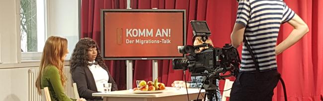 """Studierende der FH und TU Dortmund produzieren neue TV-Reihe bei: """"KOMM AN! – Der Migrations-Talk"""" auf nrwision"""