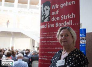 Andrea Hitzke, Geschäftsführerin der Mitternachtsmission Dortmund.