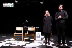 Paula Stöckmann und Hendrik Becker vom Theater Löwenherz aus Bochum bekamen viel Applaus..