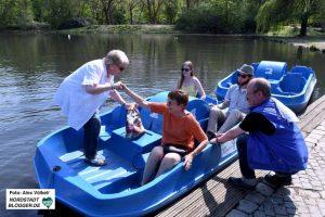 Die neue Saison am See im Fredenbaumpark in der Nordstadt ist eröffnet.