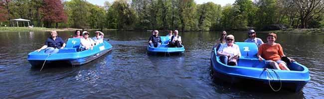 Passend zum Frühlingsbeginn eröffnet die Diakonie Dortmund und Lünen wieder ihren Bootsverleih im Fredenbaumpark