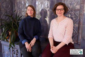 Yvonne Johannsen und Silvia Beckmann sind mit dem Quartiersmanagement betraut.