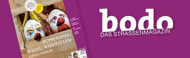 "Die neue ""bodo"" ist da: Das Straßenmagazin im Mai"