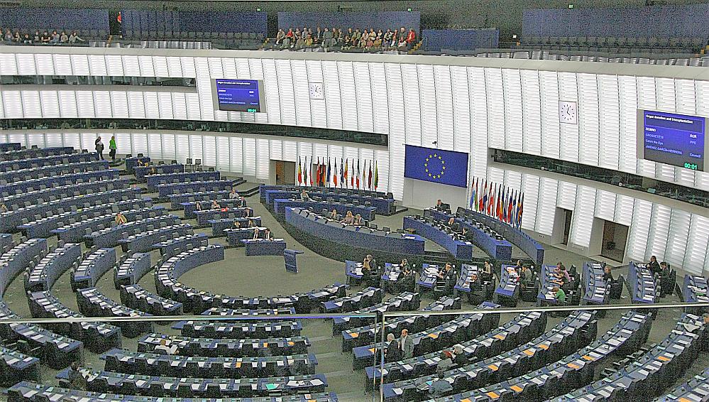 Das Europäische Parlament in Straßburg: Vertrauen geht nur über Gerechtigkeit - sagt Sven Giedold. Foto: Wiki