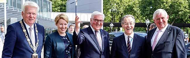 """""""Ältere bilden das Rückgrat der Ehrenamtlichen"""": Frank-Walter Steinmeier eröffnet 12. Deutschen Seniorentag in Dortmund"""