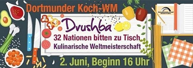 Zweite Koch-WM in der Nordstadt: Unter dem russischen Begriff für Freundschaft bitten 32 Nationen zu Tisch