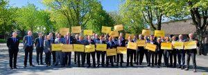 """Das parteiübergreifende Aktionsbündnis """"Für die Würde unserer Städte"""" fordert einen Kurswechsel."""