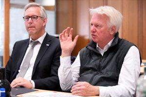 Gregor Lange und Ullrich Sierau scheuten sich nicht, die Probleme beim Namen zu nennen.