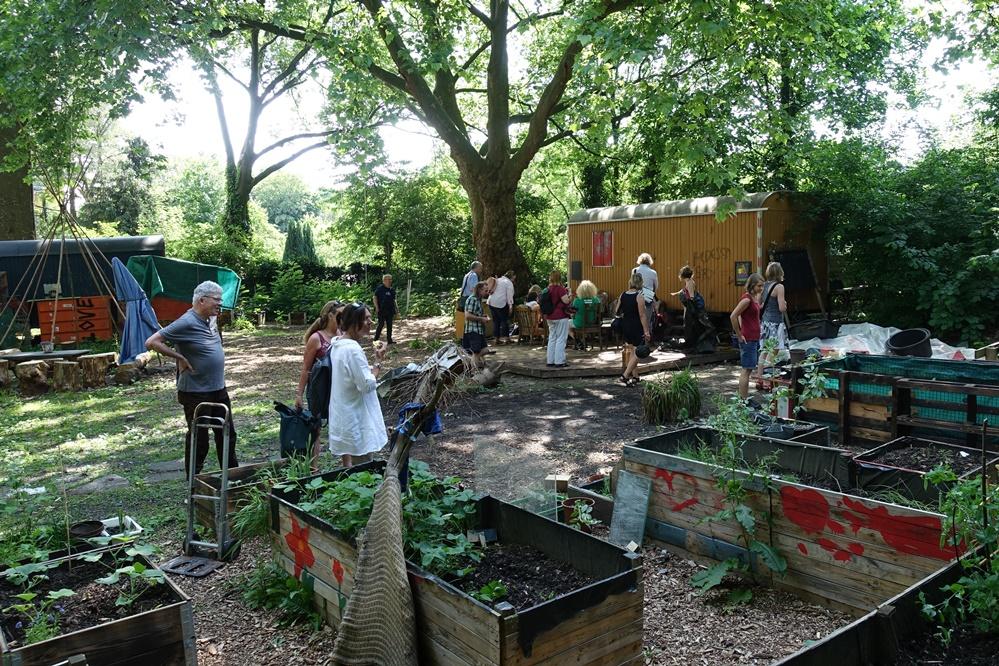 Auf dem Gelände von Tante Albert sollen bald Workshops und Bildungsprojekte für Kinder angeboten werden.