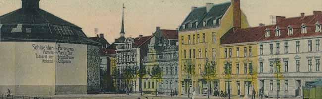 SERIE Nordstadt-Geschichte(n): Das Panorama auf dem Viehmarkt lockte vor allem mit Schlachten-Gemälden