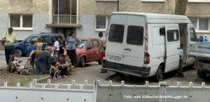 Neuzugänge in der Nordstadt: Roma aus Frankreich kommen neu in der Mallinckrodtstraße an.