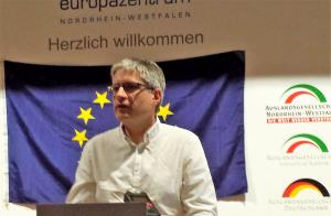 Sven Giegold, engagiert für Europa. Foto: Claus Stille.