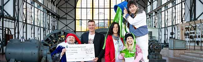 """Ein neuer Rekord: """"Geierabend""""-Publikum in Dortmund sammelt 10.141 Euro für die Obdachlosenhilfe """"bodo"""""""