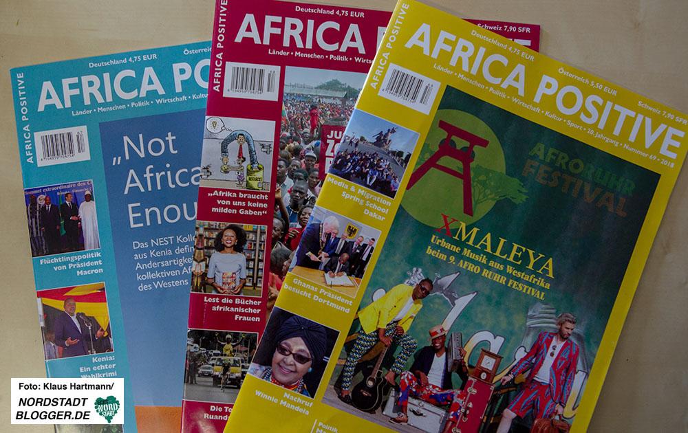Veye Tatah, Africa Positive