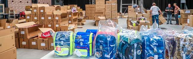 Verein Kinderglück  spendet 1.528 Schulranzen für ErstklässlerInnen in Dortmund – Verteilaktion erfolgreich