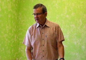Klaus Harbig, Gründer seit 13 Jahren ehrenamtlich tätig in der Arztpraxis des Gast-Haus