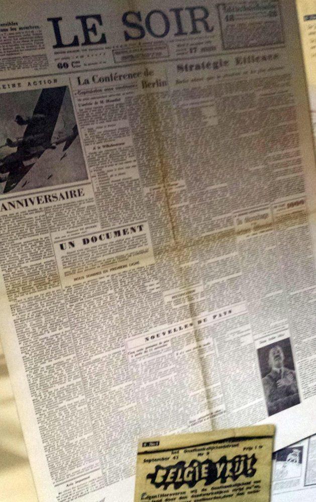 So hatten sich die Nazis ihre Abendlektüre nicht vorgestellt: statt gleichgeschalteter Phraseologie - résistance dans l'écrit.