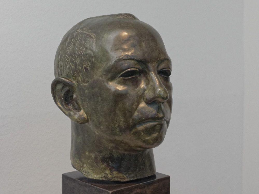 In der Sammlungspräsentation des Ostwall-Museums im Dortmunder U ist aktuell Benno Elkans Büste des Kunsthistorikers Carl Einstein zu sehen.