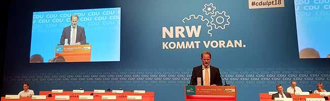 NRW-Parteitag: Steffen Kanitz und Claudia Middendorf aus Dortmund wurden in den CDU-Landesvorstand gewählt