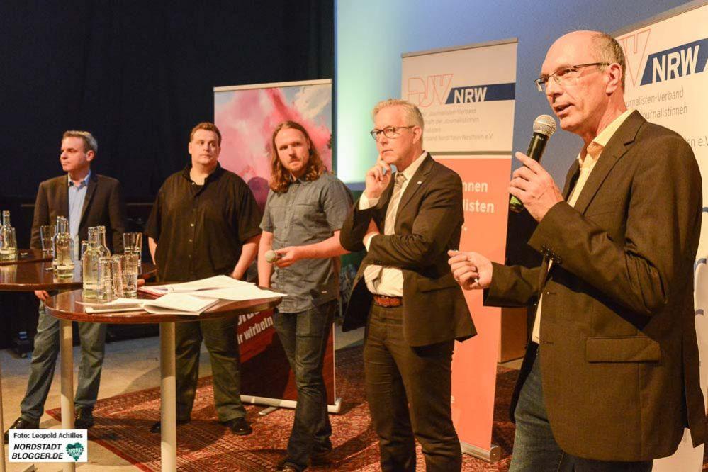 """Diskussion: """"Berichterstattung in Zeiten von G20, Wütbürgern"""