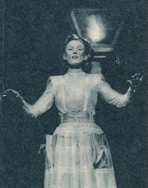 Die populäre Lale Andersen gastierte mehrfach in der Feuerkugel (Slg. Klaus Winter)